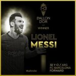 Messi beats Ronaldo and Van Dijk to win his 6th Ballon d'or