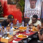 Lunch With Kobby Kyei: Blogger Dines With Fans At Sweet Aroma Restaurant