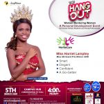 Harriet Lamptey, Naa Ashorkor and Others To Speak At This Year's Edition of The Hang Out