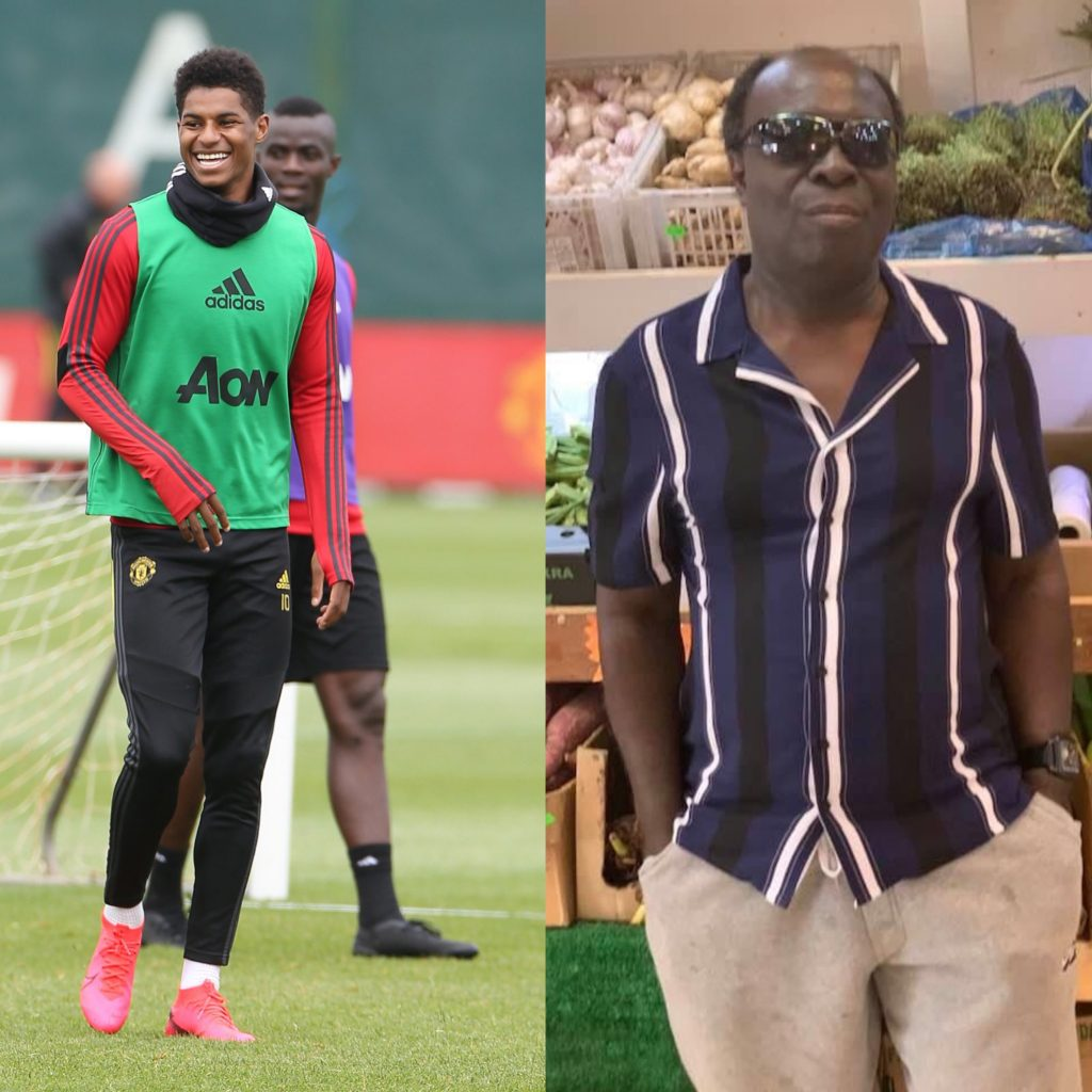 Meet The Ghanaian Man Who Claims To Be The Biological Father Of Marcus Rashford Kwesilive Com
